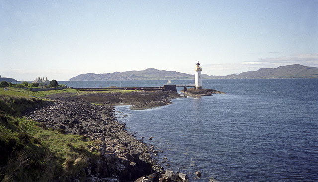 Rubha nan Gall lighthouse, near Tobermory, Mull