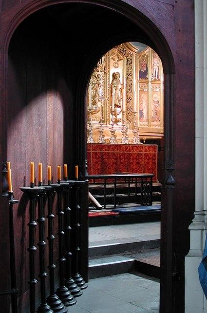 All Saints, Carshalton - View to high altar