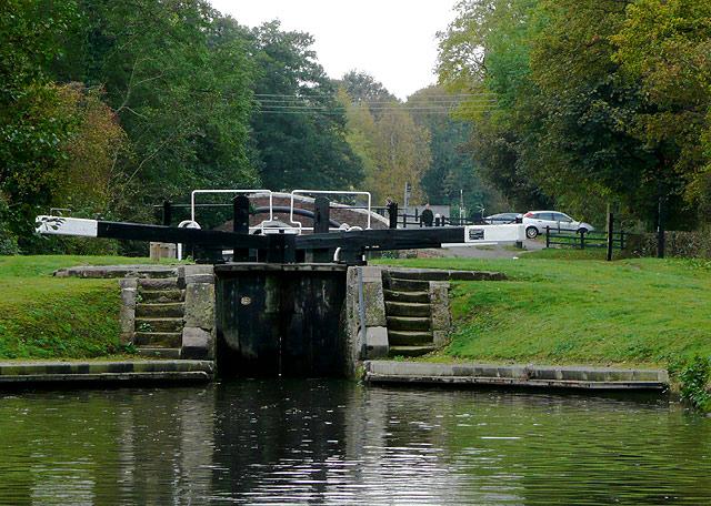 Hunts Lock near Fradley, Staffordshire