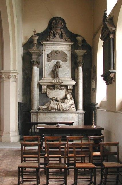 All Saints, Carshalton - Monument