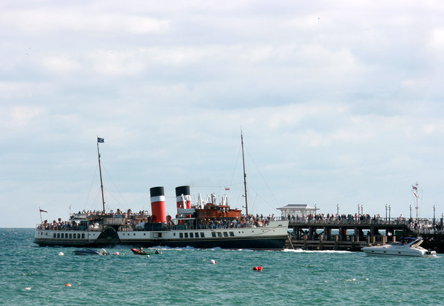 SS Waverley at Swanage Pier
