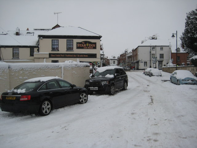 Upton-upon -Severn in snow