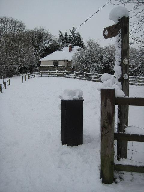 Severn Way in Upton-upon-Severn