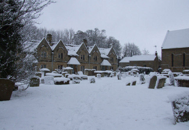 Cottages next to St Mary's Church
