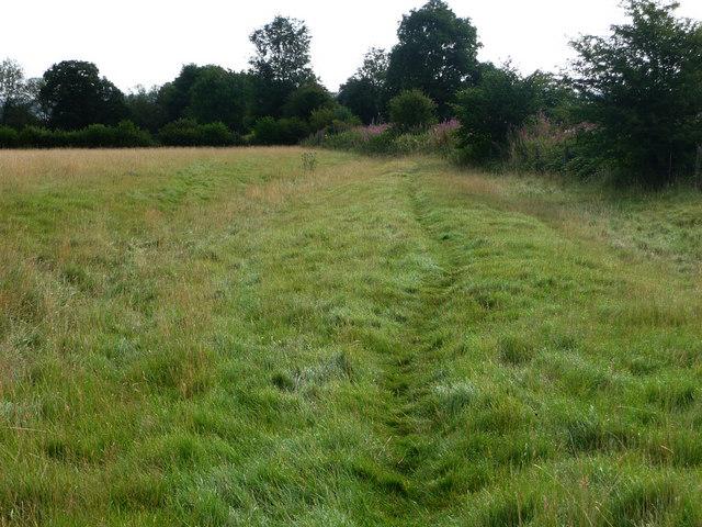 Footpath near Bucknell