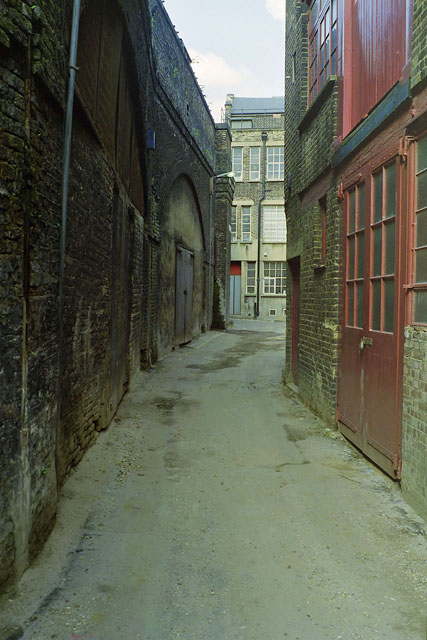 Bowl Court, EC2, early 1988