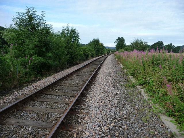 Railway looking towards Bucknell