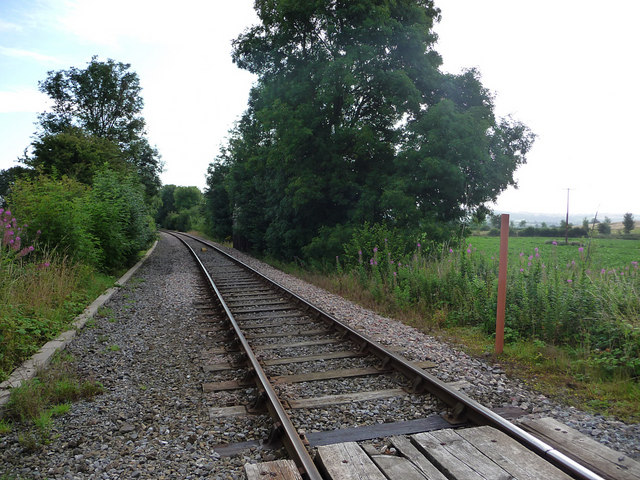 Railway looking towards Hoptonheath