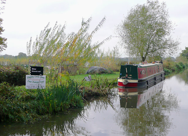 Eggs and vegetables by the Trent and Mersey