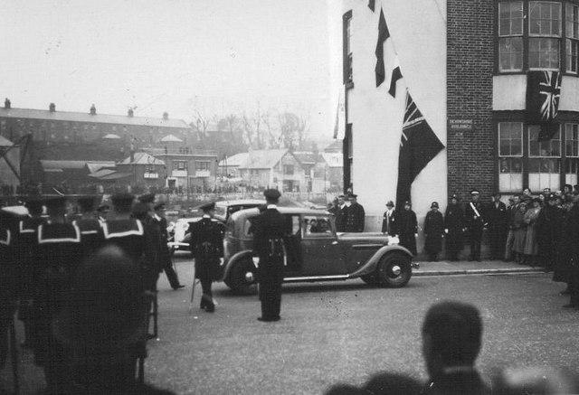 Edward VIII visits Weymouth 1936