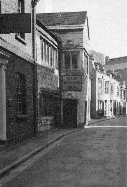 Original Old Rooms Inn 1936