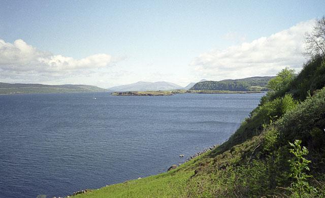 Calve Island from Rubha nan Gall