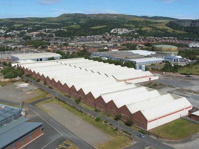 The former Blackburn Aircraft Factory