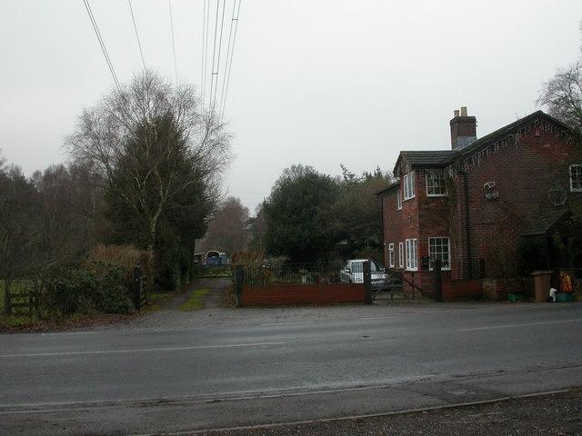 West Moors, Railway Cottage