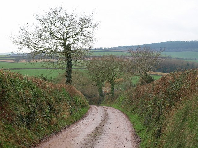 Lane to Emble Farm