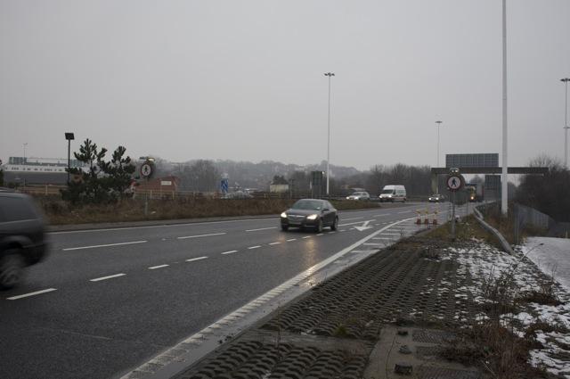 No Pedestrians - M621 Motorway
