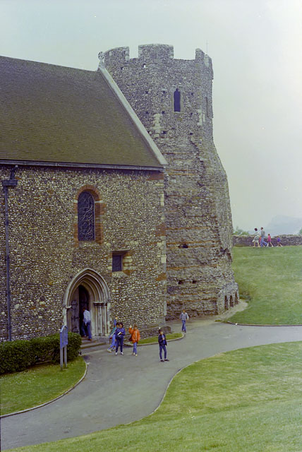 St Mary in the Castle, Dover,  1983