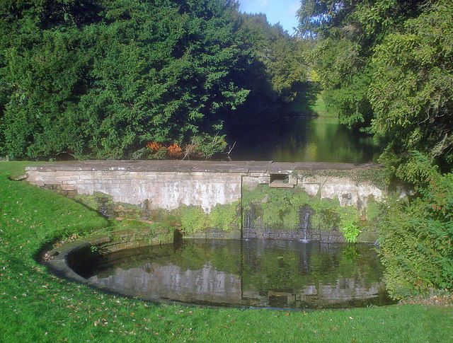 The Stew Pond in Newstead Abbey Garden