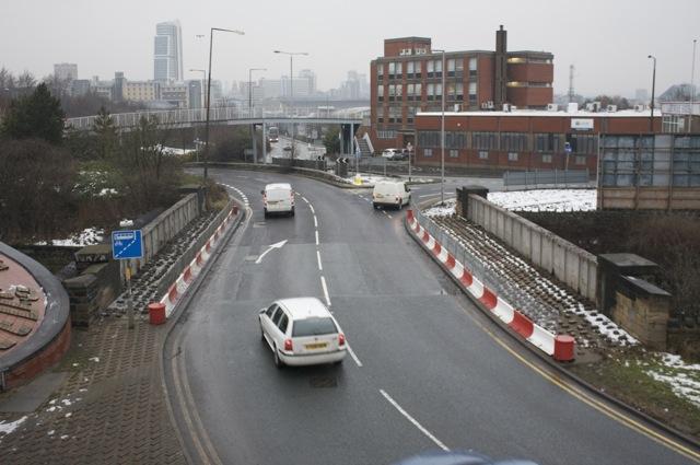 A653, Parkfield Street Bridge, Leeds