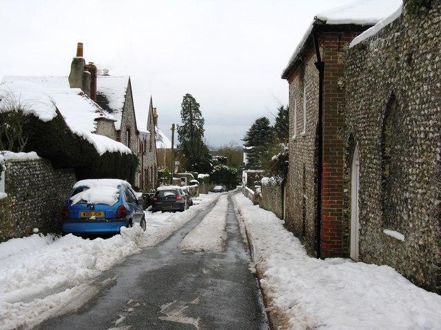 South down Church Hill