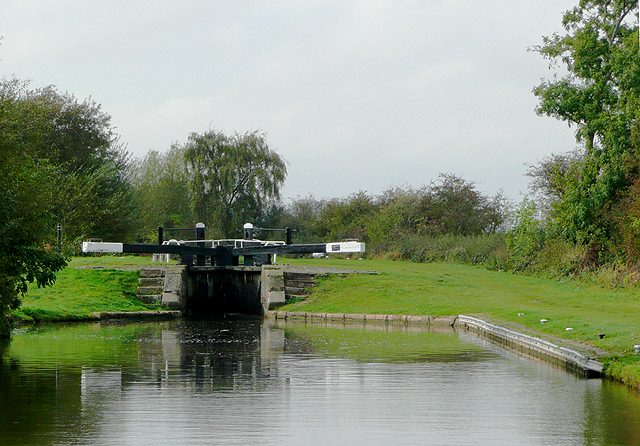 Common Lock near Fradley, Staffordshire