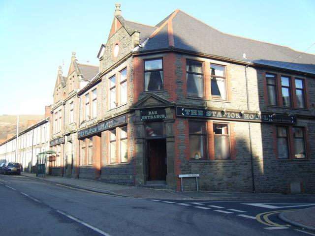 The Station Hotel, Ynyshir.