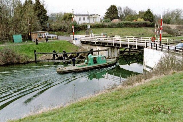 Sellars Bridge, Gloucester & Sharpness Ship Canal