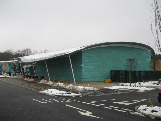 Beaconsfield Motorway Services which serves the M40 at Junction 2.