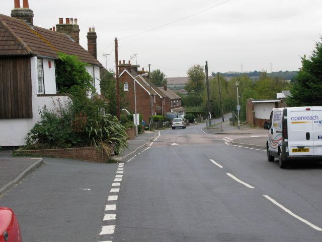 View  along Forge Lane