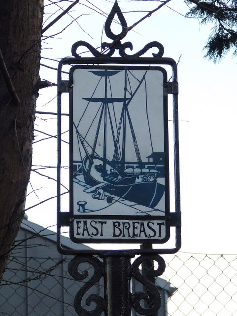 East Breast sign