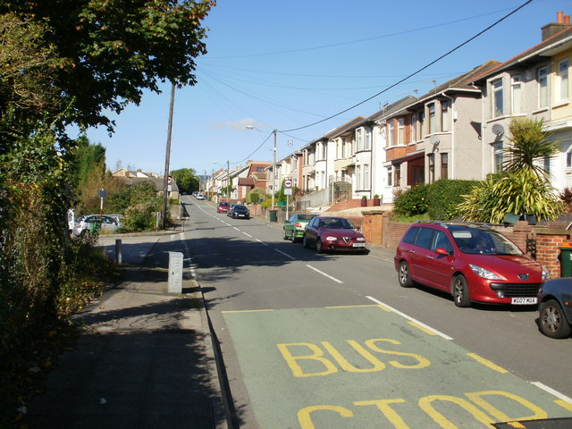 Tregwilym Road houses, Rogerstone