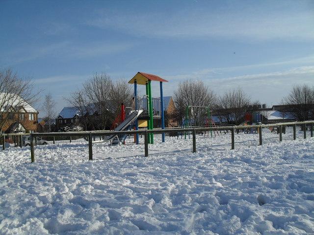 Playpark in Lavant Drive