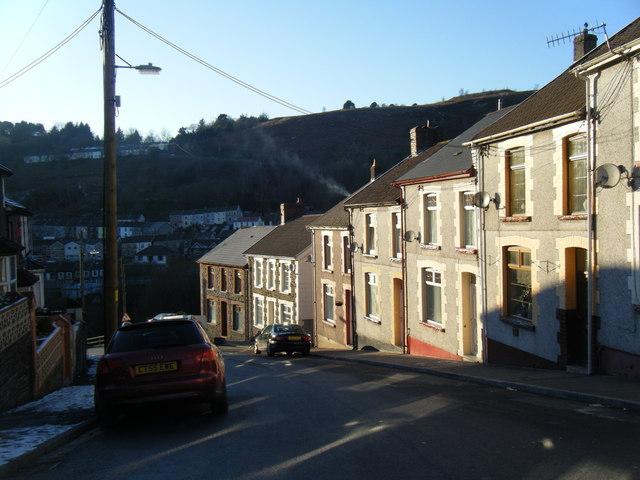 Llanwonno Road, Stanleytown.