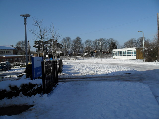 Lavant Drive in the snow