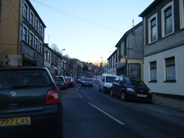 East Road, Tylorstown.