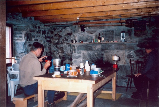 Inside the Coiremor bothy