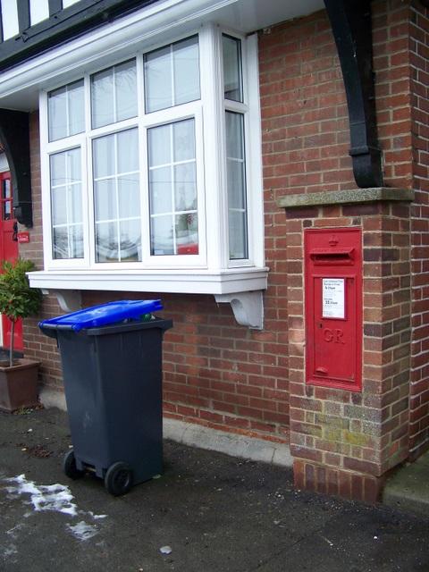 Postbox, Berwick st James