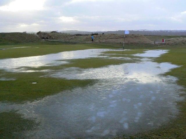 No golf today