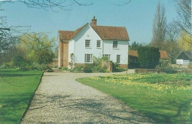 Fitzjohn's Farmhouse near Pleshey in 1997