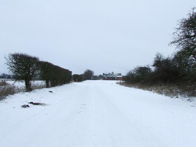 Footpath And Barn