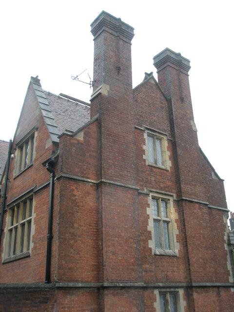 Impressive chimneys on Parsons Hill