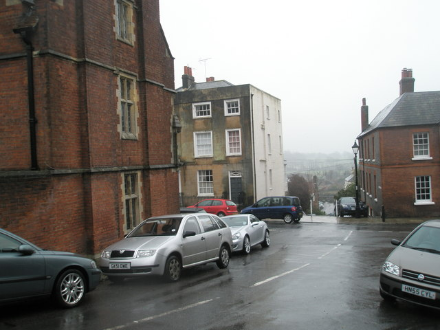 Approaching the junction of  Parsons Hill and Maltravers Street