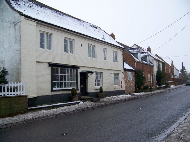 Houses on the High Street, West Lavington
