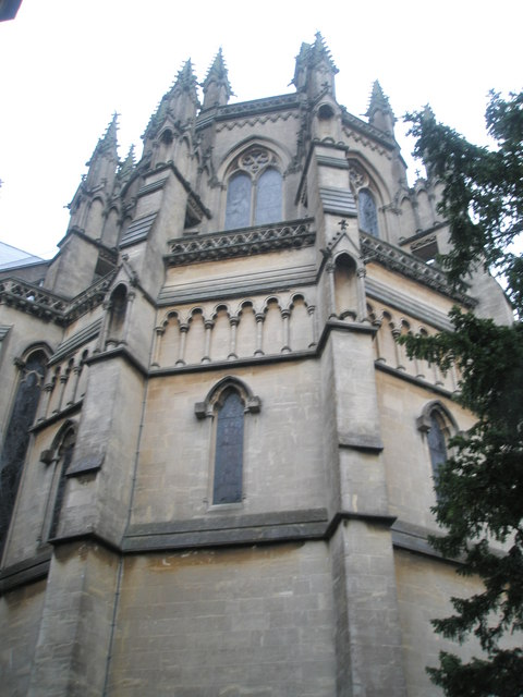 Eastern end of Arundel cathedral