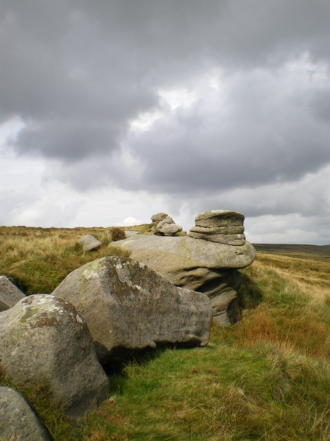 Whitendale Hanging Stones in Bowland