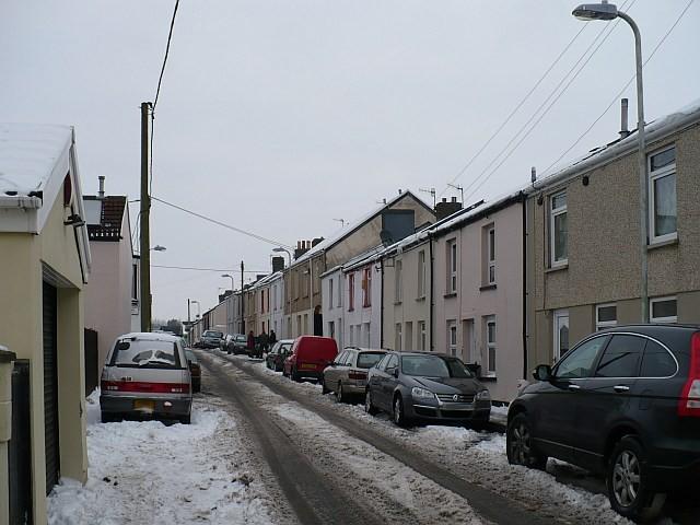 Alma Street, Dowlais