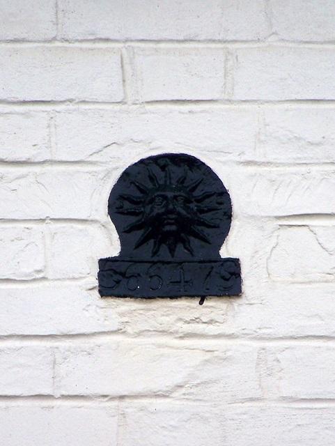 Fire insurance plaque, West Lavington