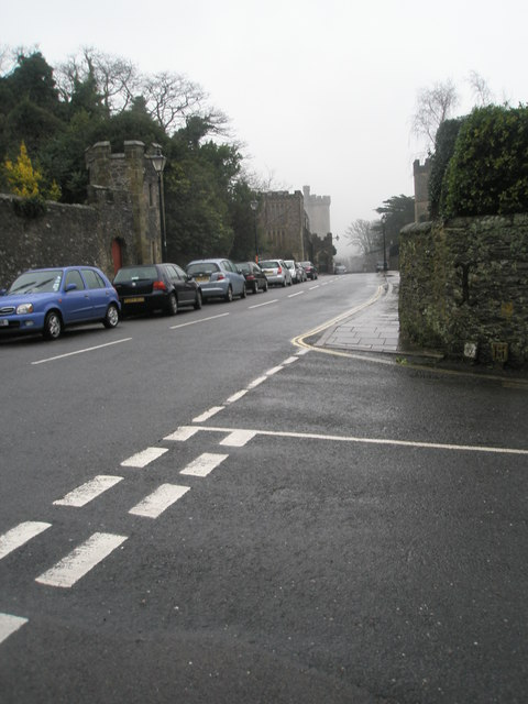 Junction of  Parsons Hill and London Road