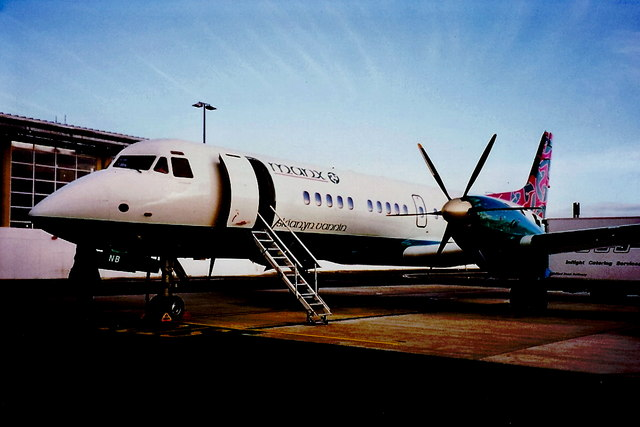 Ronaldsway Airport - Manx Airlines aircraft