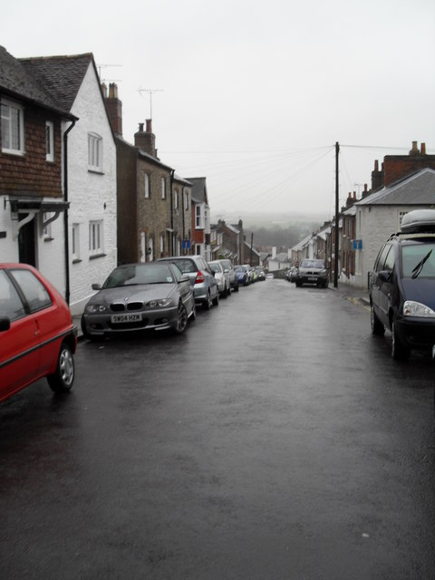 Parked cars in King Street